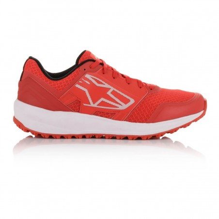 Alpinestars meta trail running zapatillas red/wht