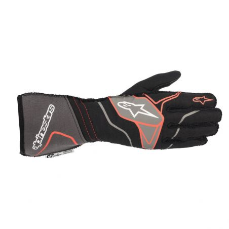 Alpinestars tech-1 zx v2 guantes blk ant/red