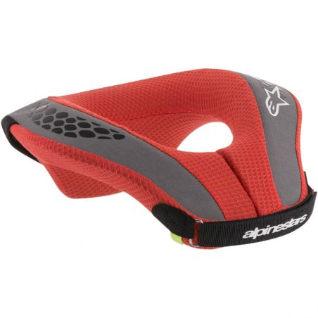 Alpinestars kart sequence youth neck roll blk/red