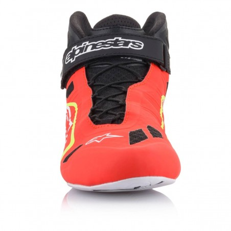 Kinetic Tech-1 KZ Limited Edition - Red-fluo-black-yellow-fluo Front