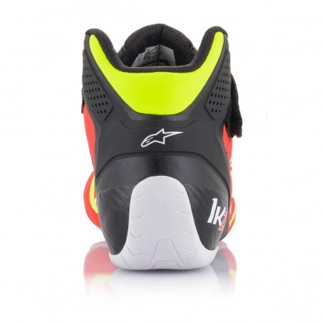 Kinetic Tech-1 KZ Limited Edition - Red-fluo-black-yellow-fluo Rear