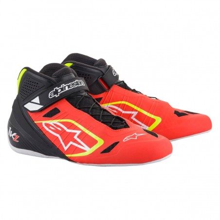 Kinetic Tech-1 KZ Limited Edition - Red-fluo-black-yellow-fluo