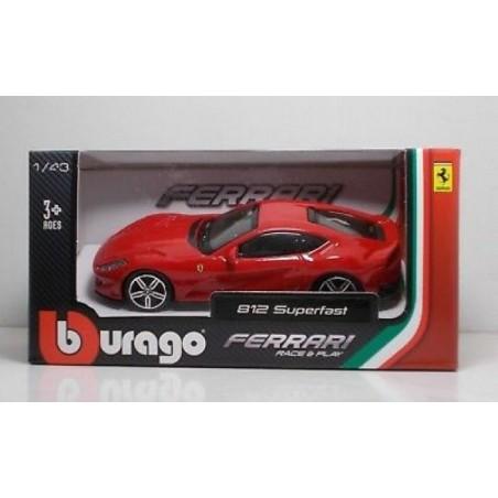 Bburgao Ferrari 812 SUPERFAST  rojo escala 1:43