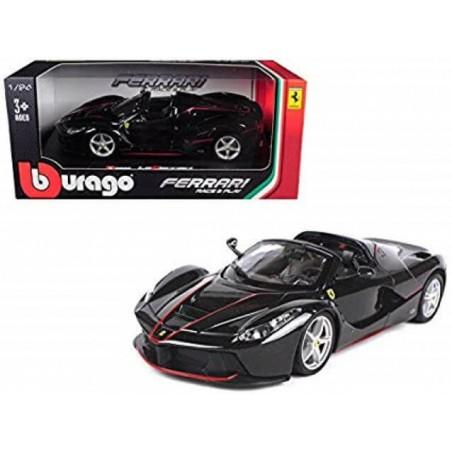Bburago Ferrari LAFERRARI APERTA  negro escala 1:43