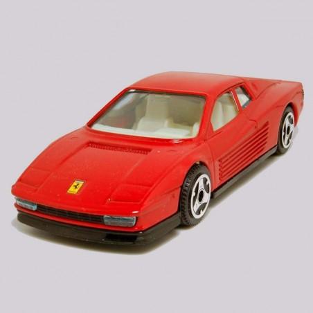 Bburago Ferrari 512 TR rojo escala 1:43