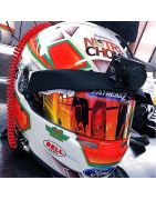Accessories for motorsport competition helmets   Bell Helmets