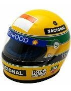 Mini Helmets, 1: 2 scale helmets of the most famous F1 drivers