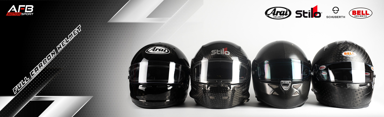 Carbon helmet competition motorsport