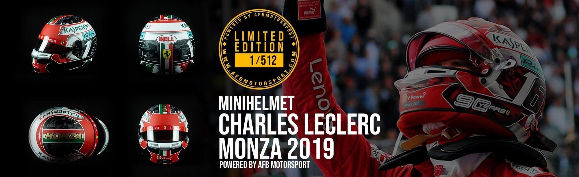 Mini Helmet Charles Leclerc Monza 2019